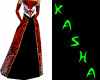 Red Dragon Gown