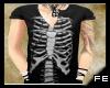 FE ribcage vneck shirt