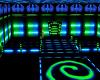 Neon Blue Green Club