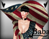 +Hat stars and stripes+