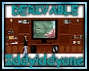 Derivable wall unit mesh