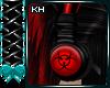 CyberGoth Red Headphones