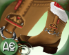 ~Ae~Boots W.Socks Brown