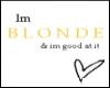 Good Blonde