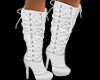 Sweet White Boots