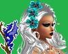 Kylie Platinum Teal Flow