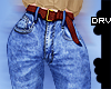 ! Vintage Jeans + Belt