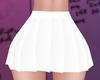 P SchoolGirl Skirt White