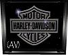 (AV) Harley Wall Art
