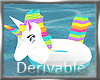 Scaled Unicorn Float 40%
