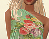Flora Silk Top