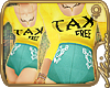 m// TAX free outfit