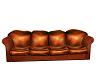 Orange Scruffy Couch