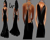 lv Elegant Black Gowns