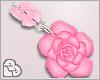 LL* Floral Earrings Pink