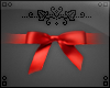  ven! Red bow