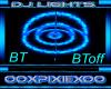 Blue & Teal dj light