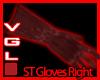 ST (R) gloves Red