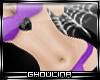 G}Purple Dot Bikini