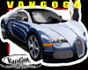 VG White Blue Fast CAR