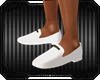 White Loafers Shoe