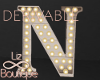 Luminous Letter Lamp N