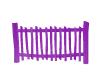Purple Fence