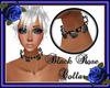 Black Rose Collar