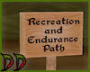 Jogging Path Sign