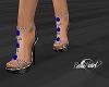Rose Sandals -Blue