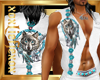 [L] White WOLF 2 Vest M