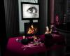 Mauve Fireplace/rug set