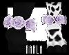 Lilac Rose Anklets