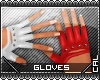 [c] Fusion Gloves Red