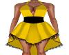 Jill-Yellow/Black Dress
