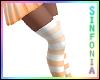 Orange Striped Socks