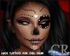 CR*Zell Face Tattoo v.7
