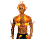 Flame suit