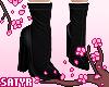 Ankle Booties Black