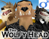 Wolfy Head -Mens