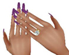 NAILS PURPLE (KL)