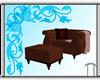 The Book Chair&Ottoman