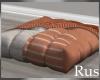 Rus Burke Square Pouf
