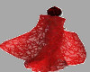 TEF SENSA RED LACE CAPE