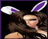[LM]F Bunny Ears-Purple