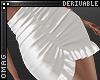 0 | Ruffle Mini Skirt