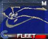 [*]Fleet Blue Cape (M)