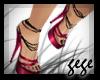 [GG]Strappy Heels Pink