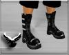 (ES) Blk Biker Boots