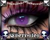 .T. Purple unisex eyes